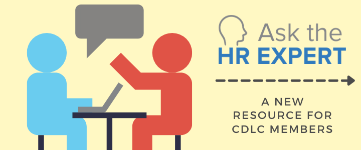 Ask the HR Expert