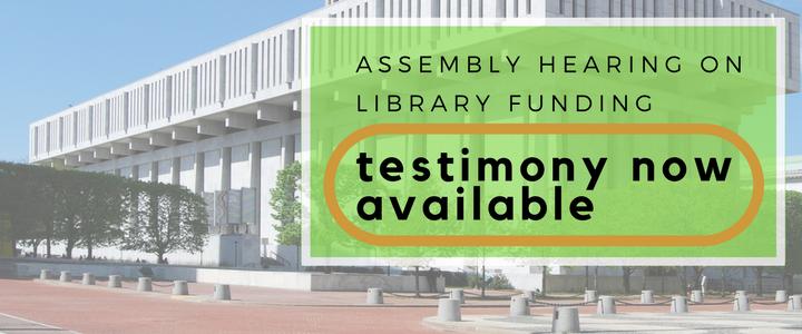 library testimony